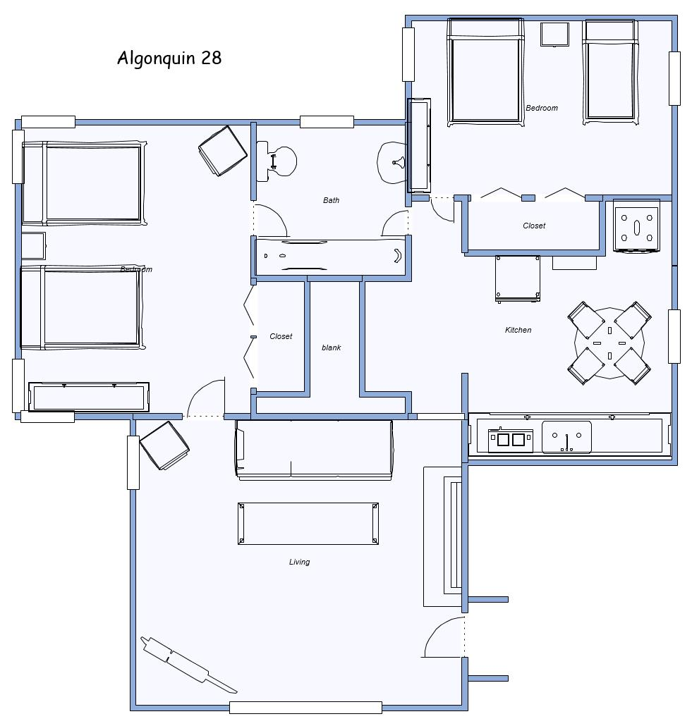 Layout of Algonquin