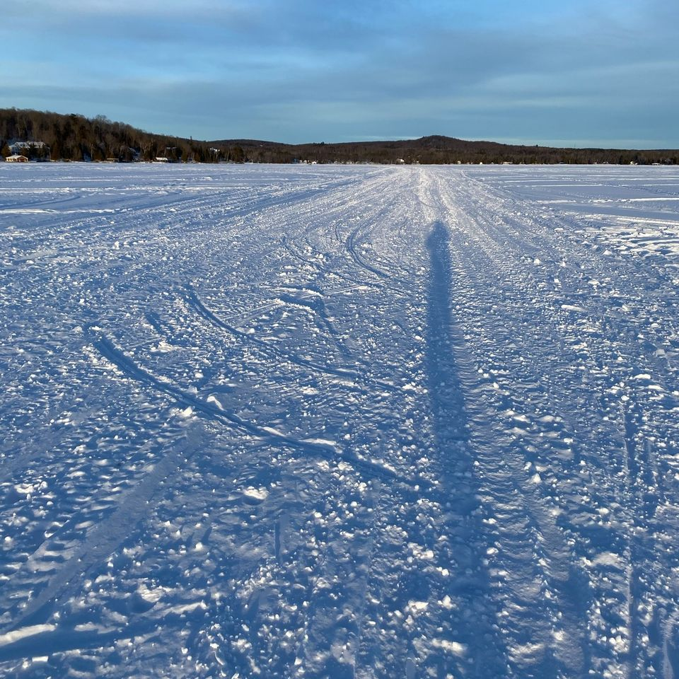 lake trails from ski does