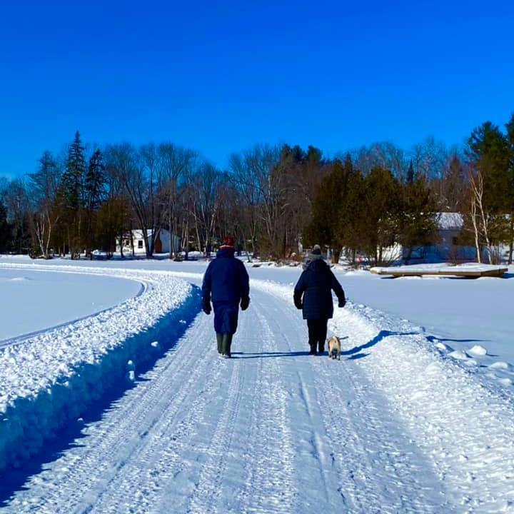 walking on penlake